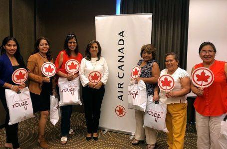Agentes de viajes recibieron capacitación de Air Canada y Costamar Travel