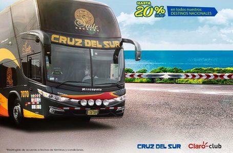 Cruz del Sur ofrece descuentos de hasta 20% a usuarios de Claro Club