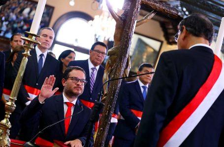 Edgar Vásquez se mantiene como ministro de Comercio Exterior y Turismo
