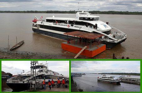Cerca de 130.000 pasajeros viajaron en Ferry Amazonas I en primeros dos años