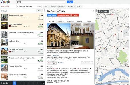 Google desafía a Airbnb con alquiler de apartamentos vacacionales