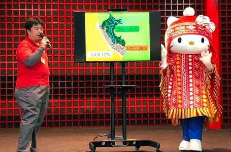 Hello Kitty se pone chullo y poncho para promocionar turismo al Perú en Japón