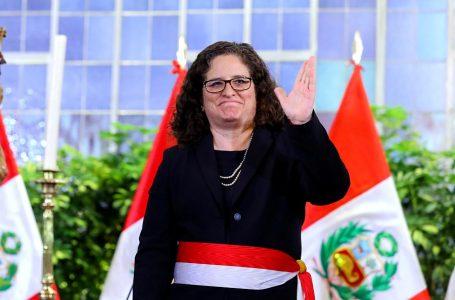 Lucía Ruíz Ostoic asume funciones como nueva ministra del Ambiente