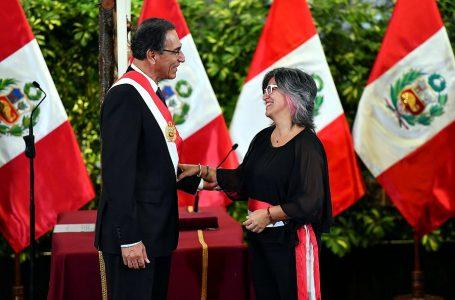 Ulla Holmquist es la nueva ministra de Cultura en reemplazo de Rogers Valencia