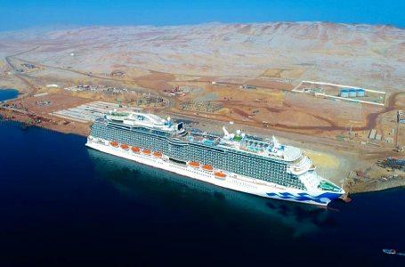 Paracas recibió al crucero turístico de lujo más grande de su historia
