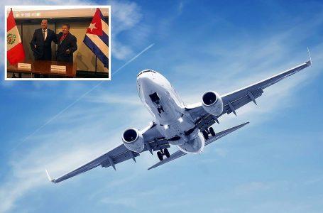 Perú y Cuba incrementarán de 21 a 31 las frecuencias de servicios aéreos