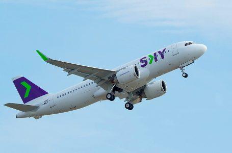 Sky iniciará operaciones el 8 de abril con más de 135,000 asientos vendidos