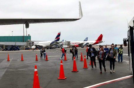 Transporte aéreo nacional de pasajeros creció 2% en enero de 2019