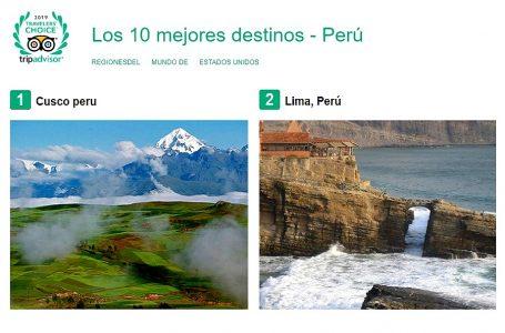 Estos son los 10 mejores destinos turísticos del Perú, según TripAdvisor
