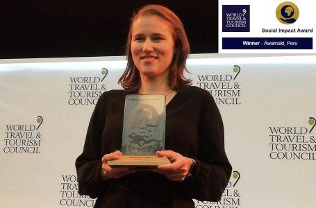 Proyecto peruano Awamaki fue premiado en Cumbre Mundial de Turismo 2019