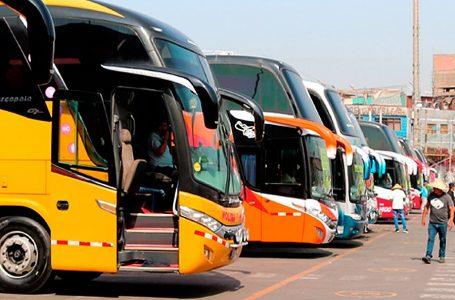 Indecopi sancionó con 126.25 UIT a empresas de transporte terrestre