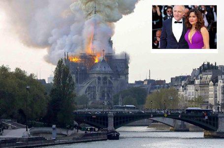 Esposo de Salma Hayek donará 100 millones de euros para reconstruir Notre Dame