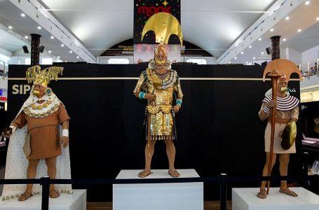 Más de 20,000 personas visitaron réplicas del Señor de Sipán en Panamá