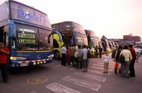 MTC eleva niveles de seguridad para usuarios del Transporte Terrestre