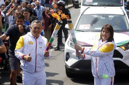 Antorcha Parapanamericana inició su recorrido por las calles de Lima