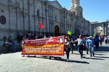Arequipa: S/ 250 millones en pérdidas por paro incluyen al transporte y alojamiento