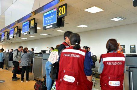 Indecopi realiza más de 220 inspecciones a empresas de turismo, transporte aéreo y terrestre