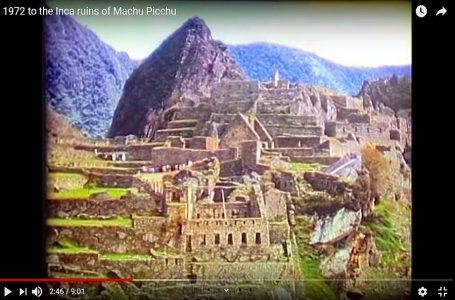 Video muestra cómo era viajar a la ciudadela de Machu Picchu hace 50 años