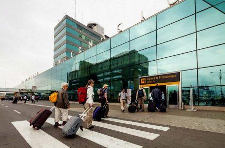 Tráfico aéreo internacional de pasajeros creció 8.9% en Perú en primer trimestre