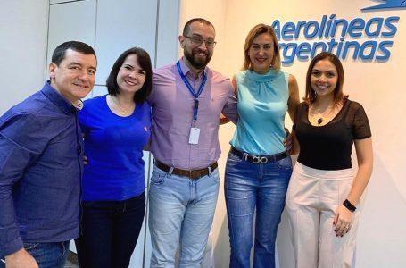 WTM Latin America realiza agenda con Aerolíneas Argentinas y MPI Brasil