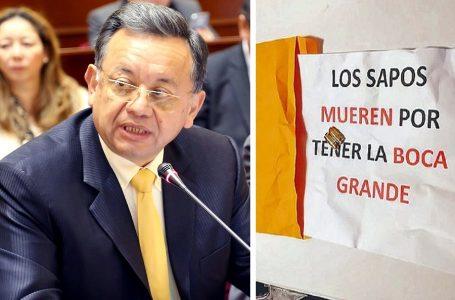 Ex contralor Edgar Alarcón recibe amenaza de muerte por denuncias en caso Chinchero