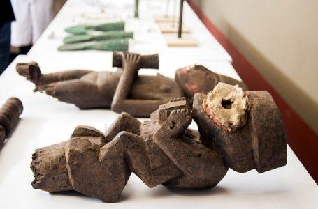 Exhiben importantes objetos hallados en complejo arqueológico Chan Chan