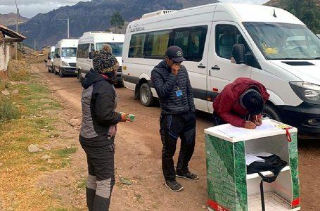 Iniciarán proceso sancionador a seis falsos guías de turismo intervenidos en Cusco