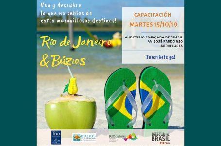 """Brasil organiza seminario """"Rio de Janeiro y Búzios"""" para agencias de viajes"""