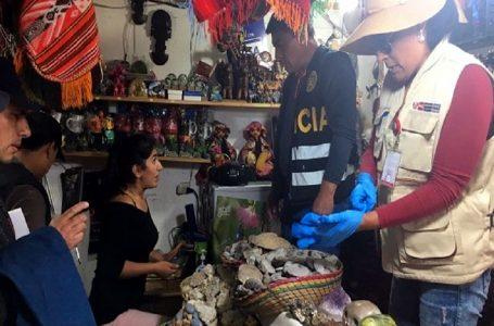 Machu Picchu: recuperan 646 bienes culturales que eran ofrecidos como souvenirs a turistas