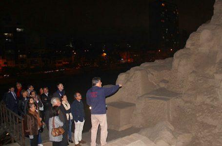 Embajadores de Unión Europea recorren complejo arqueológico Mateo Salado