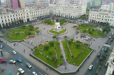 Clausuran bares y restaurantes aledaños a la Plaza San Martín en Lima