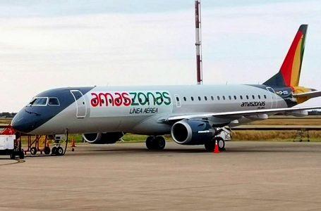 Amaszonas presenta oficialmente su nuevo Embraer 190 en Cusco
