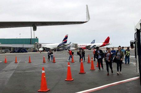 Más de 23 millones de pasajeros arribarán al aeropuerto Jorge Chávez este año