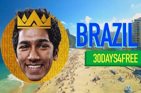 """Brasil premiará a extranjero con viaje de 30 días en concurso """"El Rey de la Gira"""""""
