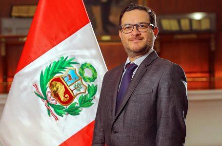 Edgar Vásquez fue ratificado como ministro de Comercio Exterior y Turismo