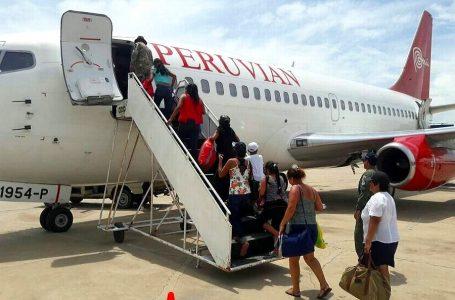 Más de 1,200 pasajeros afectados por cancelación de vuelos de Peruvian