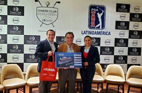 """Royal Caribbean auspició torneo internacional de golf """"Diners Club Perú Open"""""""