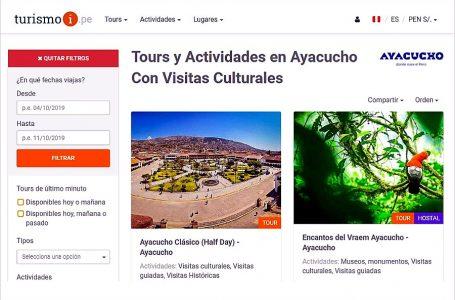 Turismoi y Pikimachay digitalizan tours y actividades con la Marca Ayacucho