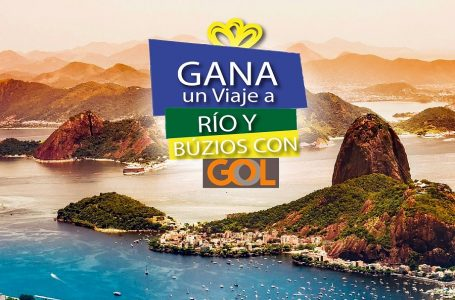 Brasil y GOL premiarán a dos peruanos con viaje a Río de Janeiro y Búzios