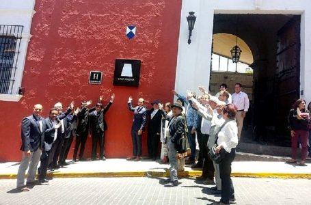 Colocan código QR y Escudo Azul en hotel Casa Andina Premium de Arequipa