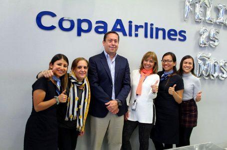 Copa Airlines celebra 25 años en Perú con 10% de crecimiento y 80% de ocupación