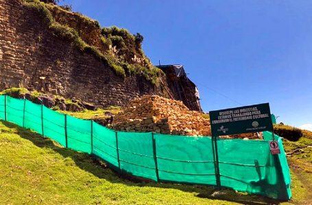 Plan Copesco Nacional descarta abandono de obras en fortaleza de Kuélap