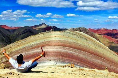 Promueven uso sostenible de Palccoyo, la otra montaña de colores en Cusco