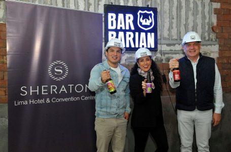 Sheraton Lima y Barbarian lanzan nuevo concepto de bar en el centro de la ciudad