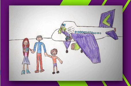 Sky Perú lanza concurso para que un niño dibuje el avión de sus sueños