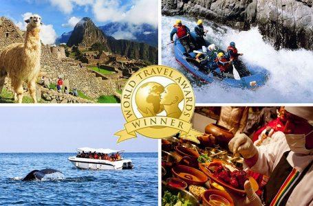 Perú es elegido mejor destino culinario y cultural del mundo en World Travel Awards