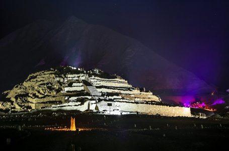 Ciudad Sagrada de Caral se iluminará para recibir el Año Nuevo 2020