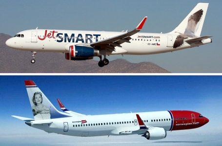 Aerolínea chilena JetSmart confirma compra de Norwegian Air Argentina