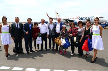 JetSmart inauguró vuelos directos Trujillo – Santiago con tarifas desde US$ 40