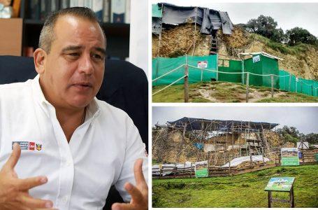 Siguen los cuestionamientos al viceministro José Vidal por abandono de obras en Kuélap